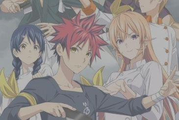 Food Wars! Shokugeki no Soma 4: new promo VIDEO