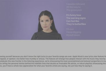 Apple celebrates the launch of the texts of Apple's Music with a series of videos of celebrities and new playlist