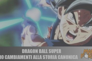 Dragon Ball Super: 10 changes to the history of the canonical