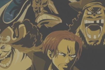 One Piece: revealed the sizes of the Four Emperors and Gol D. Roger