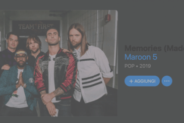 "Apple and Maroon 5 will join together to promote the function ""Memories"" in Photos"