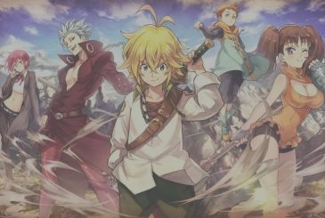 The Seven Deadly Sins, in a special chapter