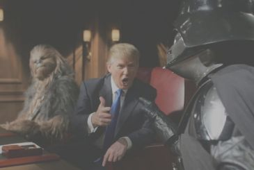 Star Wars as in the impeachment of Trump