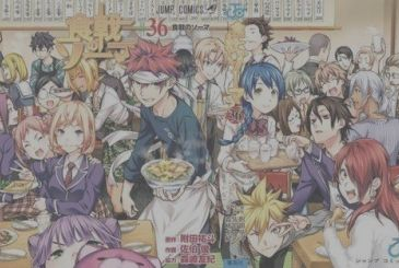 Food Wars! Shokugeki no Soma: the artists of Shonen Jump wave to the manga