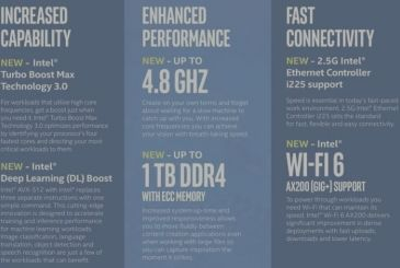Intel launches new chip Xeon W-2200 suitable for an iMac Pro up to date