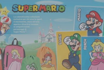 Super Mario & Co arrive by Simply and Auchan