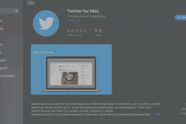 Twitter for Mac is available on Mac App Store