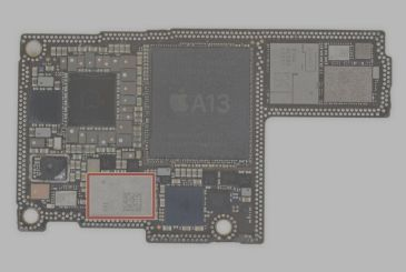 The chip U1 of the iPhone 11 has been developed entirely by Apple