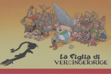 Asterix and The daughter of Vercingetorix: unveiled the cover
