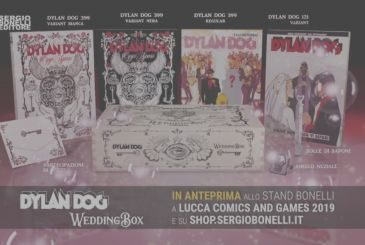 Dylan Dog Wedding Box: ready for the wedding of the year?