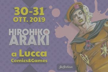 "Lucca Comics 2019, the meetings with Hirohiko ""JoJo"" Araki"