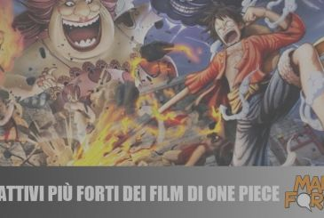 The 10 bad guys stronger than the movie One Piece