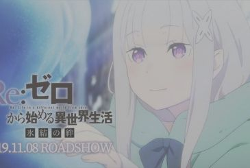 Re:Zero – Hyoketsu no Kizuna, letters and new images of the episode OVA