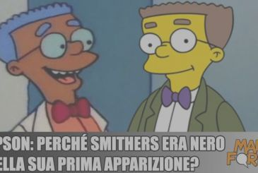 The Simpsons: why Smithers was black in his first appearance?