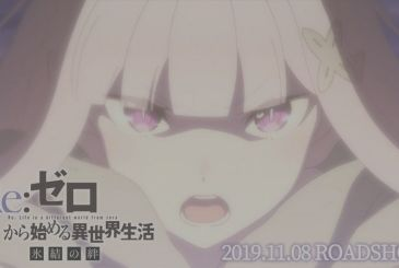 Re:Zero, the third promo video and the second key visual of the new episode animated