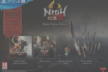 Ni-Oh 2: announced release date, open beta and special editions