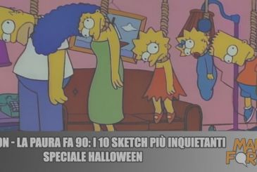 The Simpsons – The Fear Is 90: 10 sketch the most scary | Halloween Special