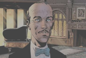 Batman: the tragic events of Alfred in a special register