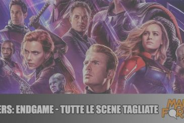 Avengers: Endgame – All of the cut scenes