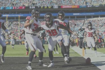 "The defeat of the ""panthers"" (Atlanta Falcons vs Carolina Panthers 29-3)"