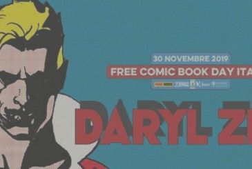 Daryl Zed to Free Comic Book Day