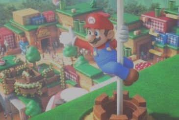 Super Nintendo World, the new image of the promo of the theme park