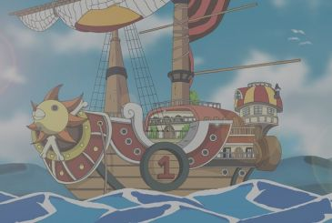: One Piece the Thousand Sunny arrives in Nagasaki