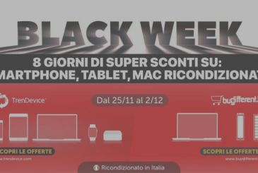 Discounts-Black Week: iPhone 7 184,90€ and iPhone X from 479,90€. On TrenDevice until the exhaustion of stocks.