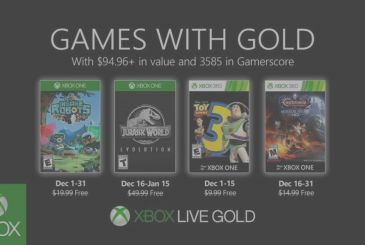 Games with Gold: announced the FREE games of December
