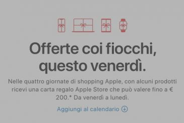 We start the four-day shopping special Apple
