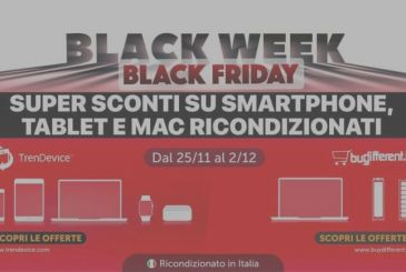 Special Black Friday TrenDevice: iPhone 8 by 324,90€ and iPhone Xs from 619,90€. Until the exhaustion of stocks.