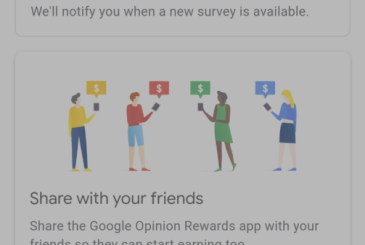 Google Opinion Rewards now show the expiry date of the credit
