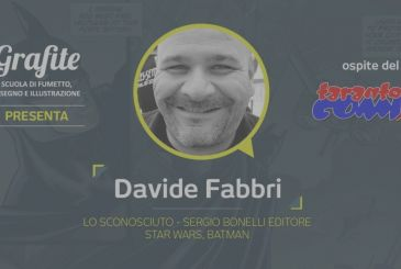 Graphite Taranto Comix 2019 with Davide Fabbri and the Area of Graphite Kids