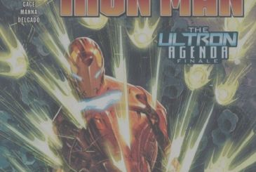 Iron Man: the first pages of the final number with Tony Stark!