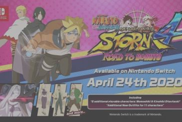 Naruto Storm 4: the Road To Boruto arrives on the Nintendo Switch and adds new characters