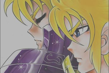 Saint Seiya Destiny, the first pages of the manga