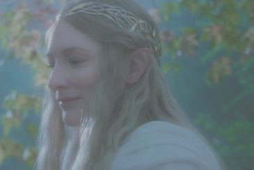 The Lord of the Rings: choice the young Galadriel