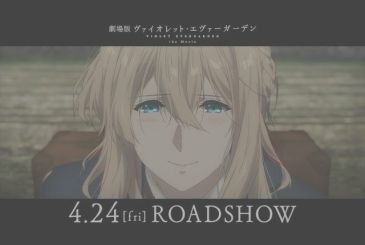 Violet Evergarden, the new teaser trailer of the film