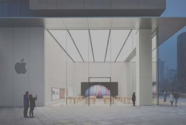 Apple reopens 10 Apple Store in China