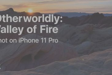 "Shot on iPhone: Apple releases the new video ""Valley of Fire"""