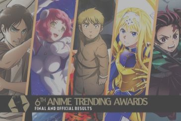 Anime Trending Awards 2020, all of the winners