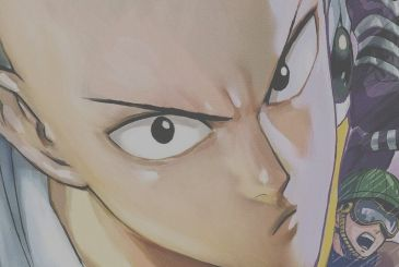 In the Manga, the cover of One-Punch Man Discovery Edition