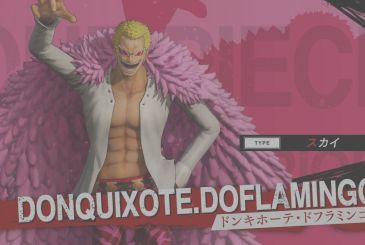 One Piece – Pirate Warriors 4: the trailer of Doflamingo and Fujitora