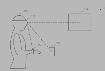 Apple patents a device AR or VR that can automatically unlock multiple devices