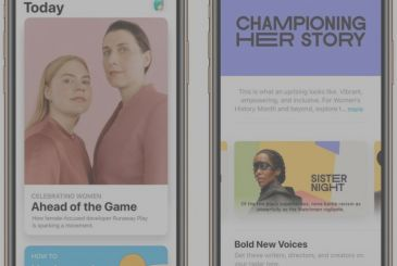 "Apple introduces the series ""Creates as She"" in the stores around the world"