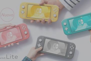 Nintendo Switch Lite coral, the release date in Europe