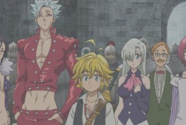 The Seven Deadly Sins: Wrath of the Gods, the month of debut on Netflix