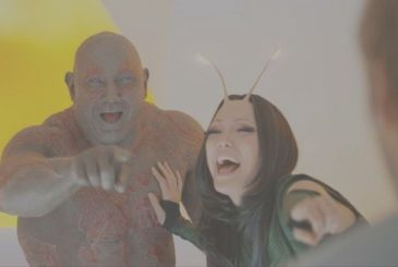 Guardians of the Galaxy: the spin-off on Drax and Mantis is still possible