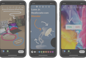 """Instagram launches new sticker """"iorestoacasa"""" and a tool to draw arrows in the stories"""