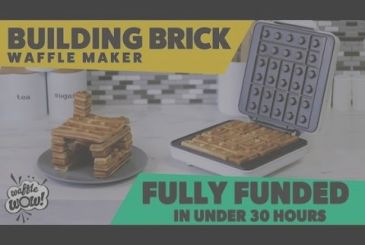 A plate for Waffle lovers, this Lego